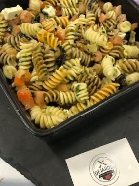 Salade pates