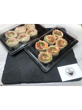 Mini Wraps Saumon
