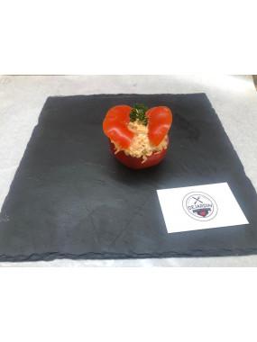 Tomate au saumon